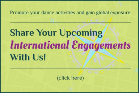 Submit your upcoming international engagements