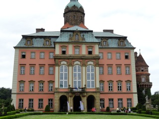 Książ Castle, site of one day's Congress