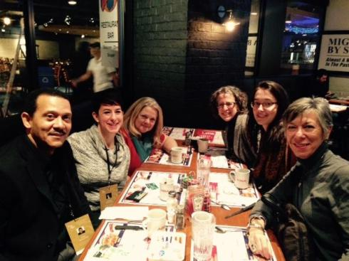 Participants in Beyond Our Borders attending CINARS in Montreal, Canada.